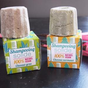 Les shampoings secs de Lamazuna