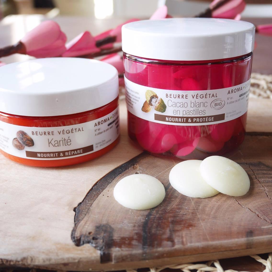 Le beurre de Karité & de cacao
