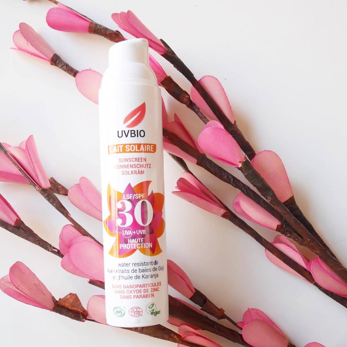 Crème solaire UV Bio