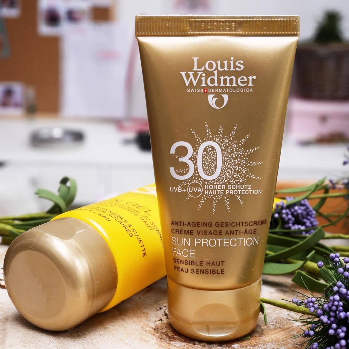 crèmes solaires Louis Widmer