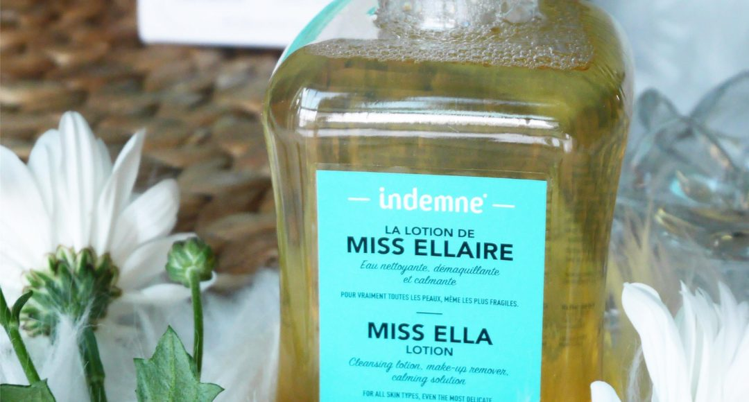 Lotion Miss Ellaire d'Indemne
