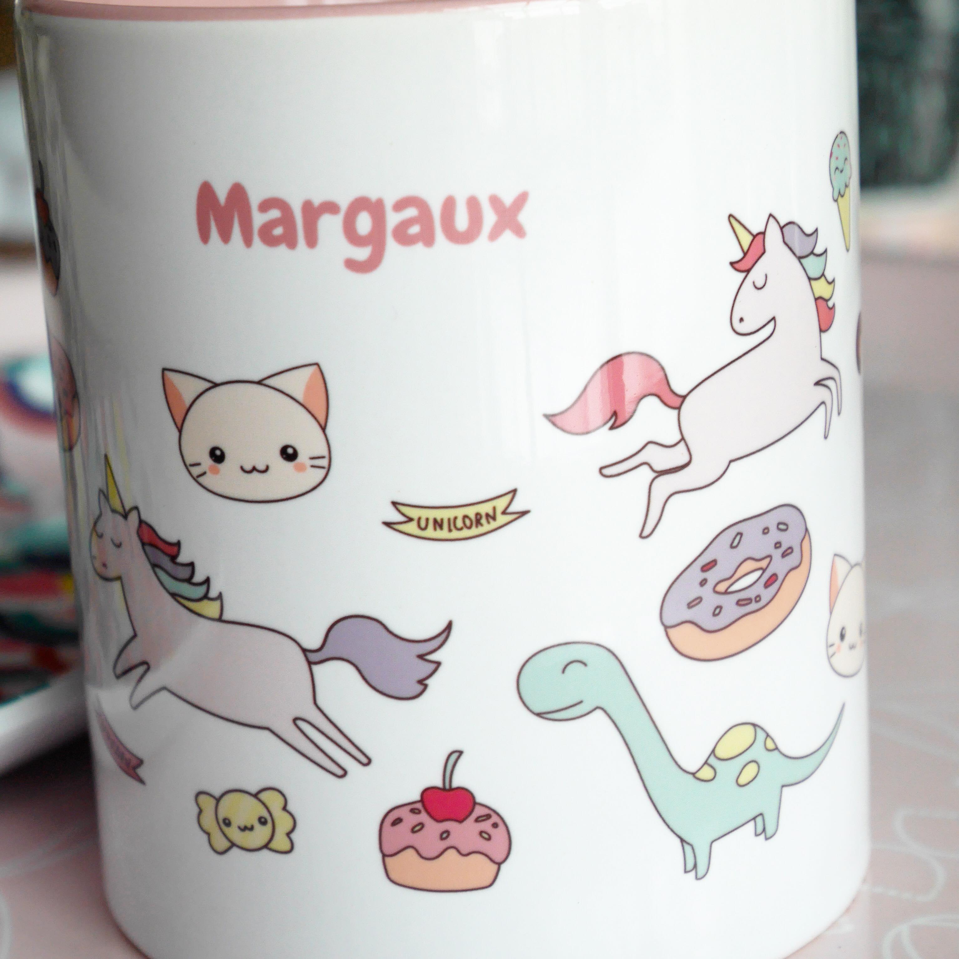 Mug personnalisé C'mon étiquette